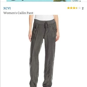 Xcvi  Gray Cupra Long pants front pockets new tags